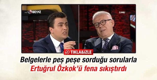 Beyaz TV'de Osman Gökçek'ten Ertuğrul Özkök'e zor sorular