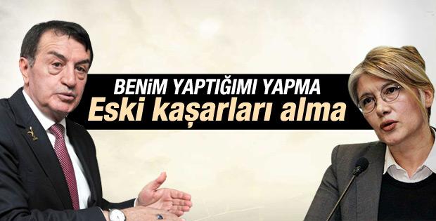 Osman Pamukoğlu'ndan Emine Ülker Tarhan'a tavsiye