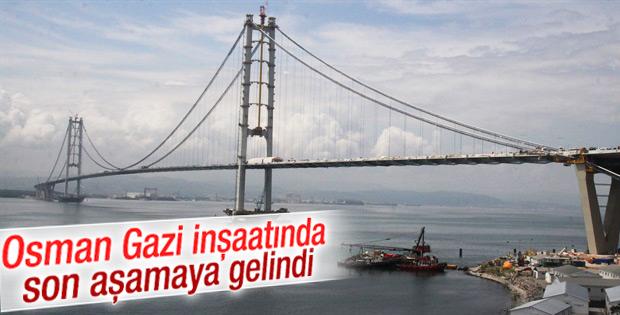 Osman Gazi inşaatında sona gelindi