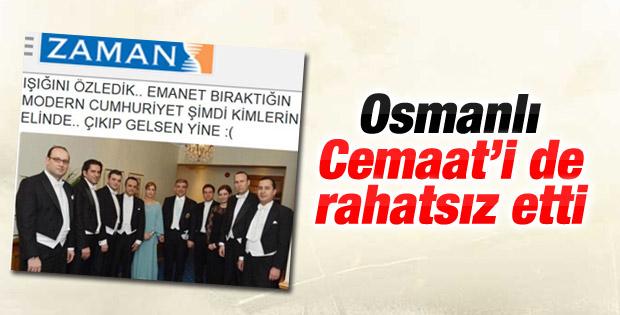 16 Türk devletini simgeleyen askerler Cemaat'i de rahatsız etti