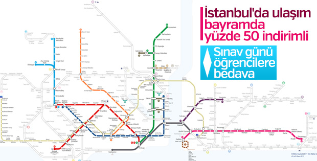 İBB'den indirimli ve ücretsiz toplu ulaşım kararı
