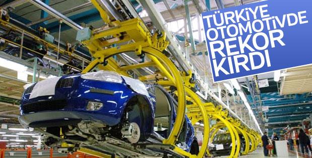 Türk otomotiv sanayisi 2017'de rekor kırdı
