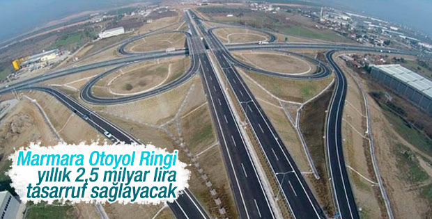 Marmara Ringi ile trafik çilesi bitiyor