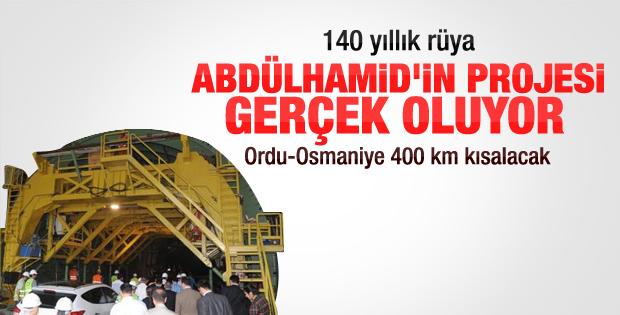 2.Abdülhamid'in otoyol projesi gerçekleşiyor