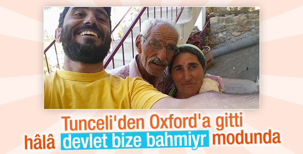 Oxford'a giren Tuncelili: Türkiye'ye dönmem
