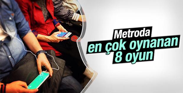Metroda en çok oynanan oyunlar
