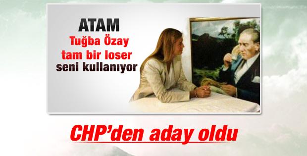 Tuğba Özay CHP'den aday oldu