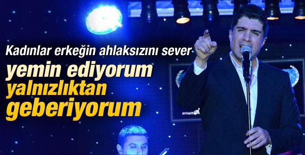 Özcan Deniz: Yalnızlıktan geberiyorum
