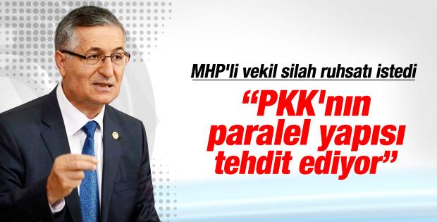 MHP'li Özcan Yeniçeri silahlandı İZLE