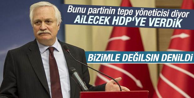 HDP'ye oy veren CHP'li Murat Özçelik aday gösterilmedi