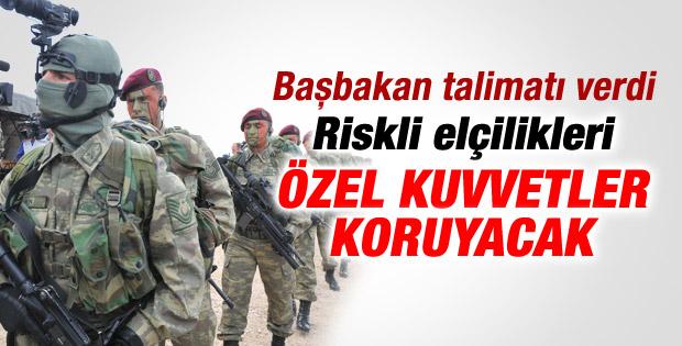 Türk elçiliklerini Özel Kuvvetler koruyacak