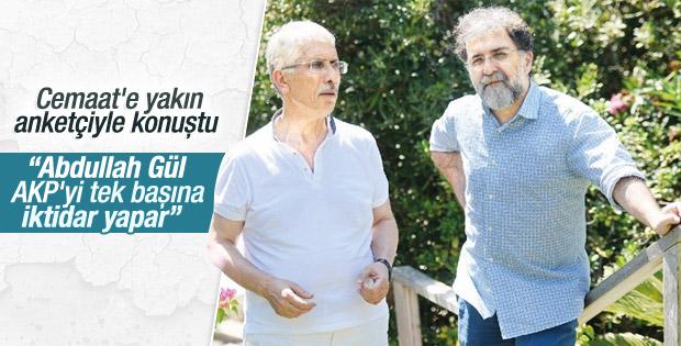 Özer Sencar: Gül gelse AK Parti tek başına iktidar olur