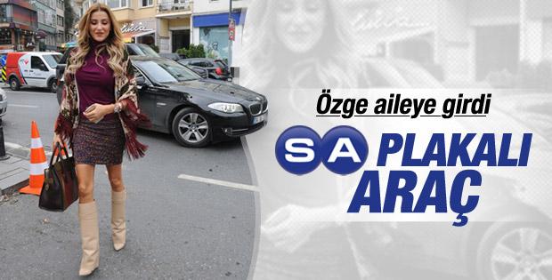 Hacı Sabancı, Özge Ulusoy'a araç tahsis etti