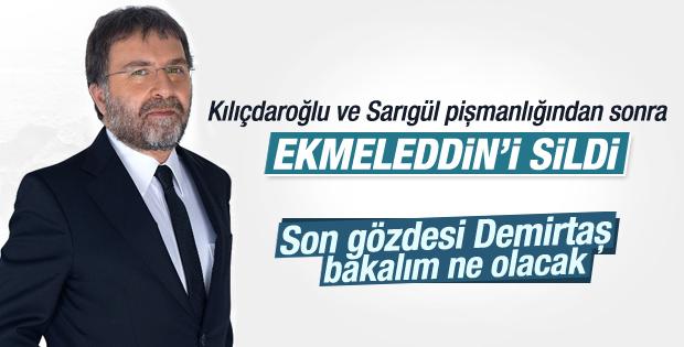 Ahmet Hakan Ekmeleddin İhsanoğlu'nu eleştirdi