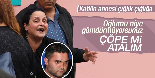 Özgecan'ın katili Suphi'nin annesi feryat etti