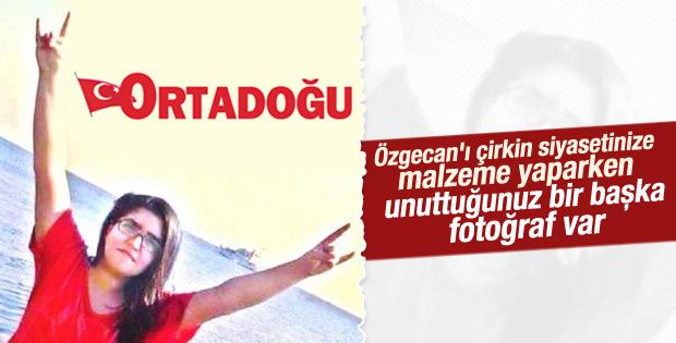 MHP'nin gazetesi Özgecan'ı ülkücü yaptı