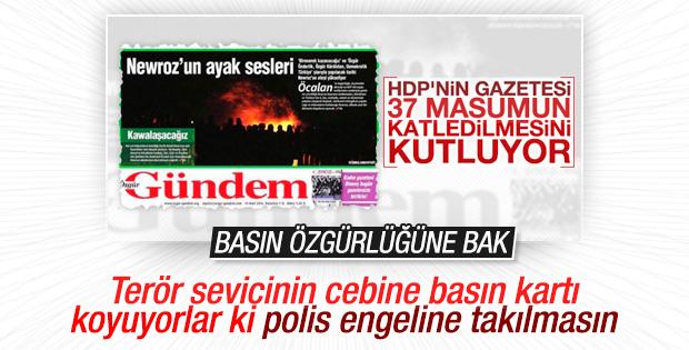 Özgür Gündem çalışanlarının basın kartları iptal edildi