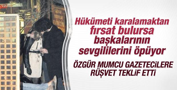 Özgür Mumcu-Bilge Öztürk ikilisi öpüşürken yakalandı