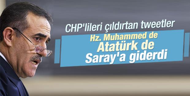 Özkes: Hz. Muhammed de Atatürk de Saray'a giderdi