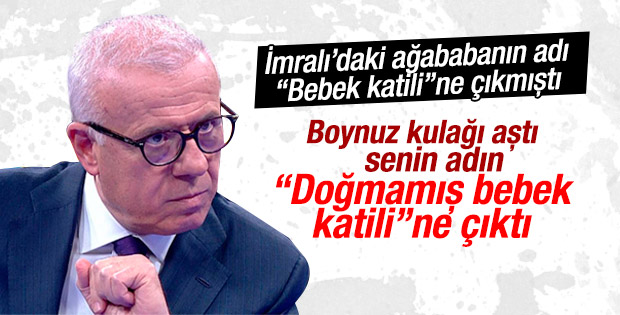 Ertuğrul Özkök'ten PKK elebaşı Cemil Bayık'a tepki