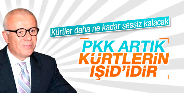 Ertuğrul Özkök'ten PKK'ya IŞİD benzetmesi