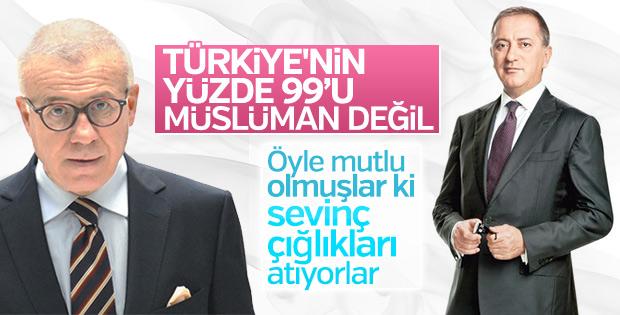 Özkök ve Altaylı'nın sevinci: Türkler dindar değil