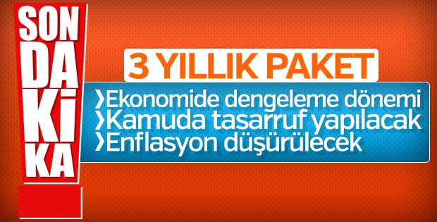 Yeni yatırım programı Resmi Gazete'de yayınlandı