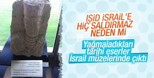 Palmyra'daki tarihi eserler İsrail'de ortaya çıktı