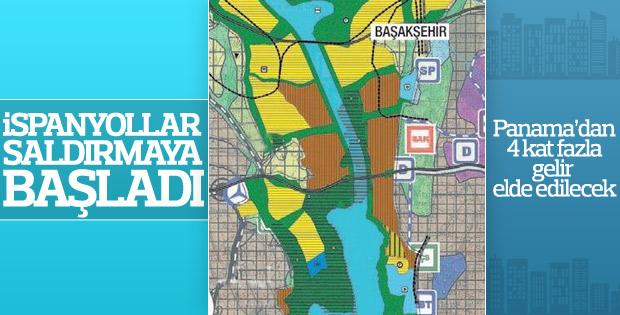 İspanya'nın hedefinde Kanal İstanbul var
