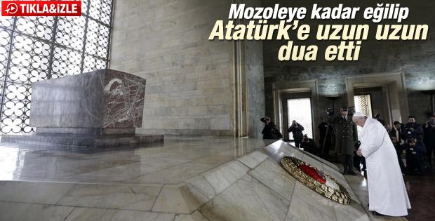 Papa Franciscus  Türkiye'ye geldi