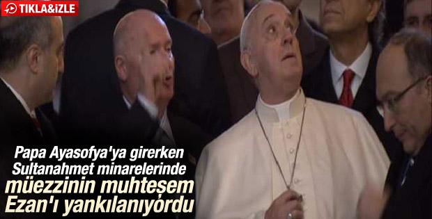 Papa Franciscus İstanbul'da
