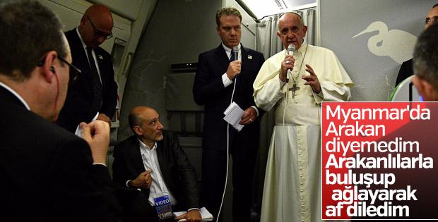 Papa'nın Myanmar'daki tutumu eleştiriliyor