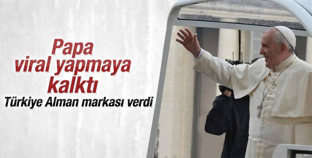 Papa Türkiye'den Fiat Albea istedi