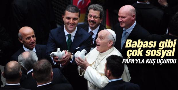 Emir Sarıgül Papa'yla buluştu