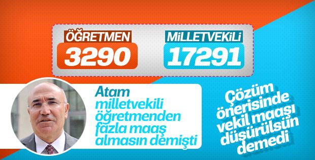 CHP'li Tanal: Öğretmen ve milletvekili maaşı aynı olsun