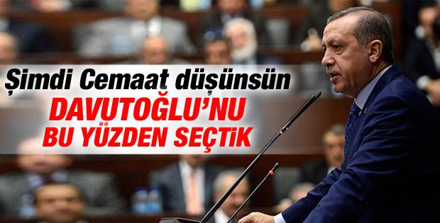 Erdoğan: Paralel Yapı'yla mücadele için Davutoğlu dedik İZLE