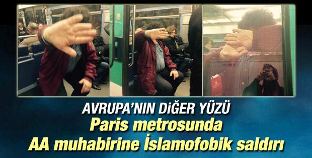 Fransa'da Anadolu Ajansı muhabirine İslamofobik saldırı