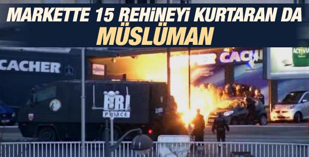 Market saldırısında 15 rehineyi Müslüman genç kurtardı