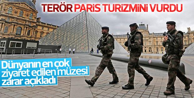 Saldırılar Louvre müzesini de vurdu