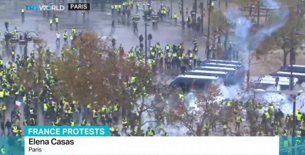 TRT World Paris'ten canlı yayında