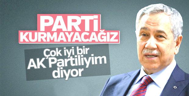 Bülent Arınç 'parti kuracak' iddialarına yanıt verdi