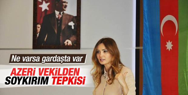 Azeri vekil Ganire Paşayeva'dan AP'nin kararına tepki