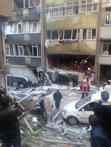Kazancı Yokuşu'nda patlama olmadan önce o bina