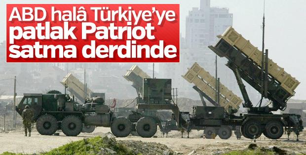 ABD ile Türkiye arasında Patriot görüşmesi