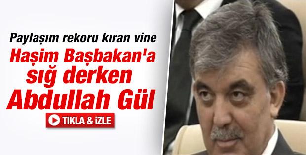 Paylaşım rekorları kıran Abdullah Gül vine'ı