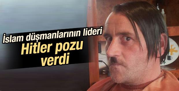 Pegida lideri Hitler pozu nedeniyle istifa etti