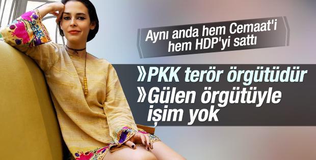 Pelin Batu Cemaat'i de HDP'yi de sattı