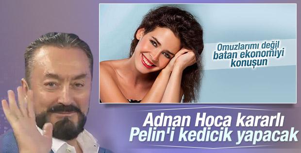 Adnan Oktar Pelin Batu'nun dekoltesini yorumladı