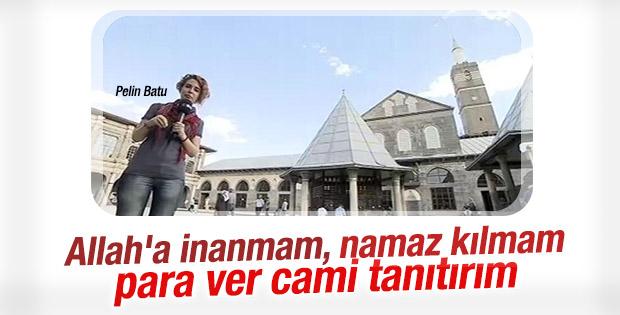 Pelin Batu'nun Diyarbakır'da cami gezisi