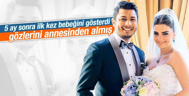 Pelin Karahan oğlu Ali Demir'in yüzünü gösterdi